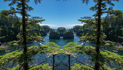 Cape Flattery Reflection Poster by Pelo Blanco Photo