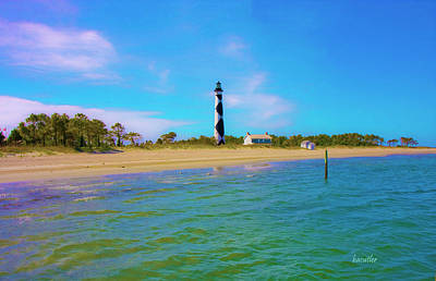 Cape Lookout 1 Poster by Betsy C Knapp