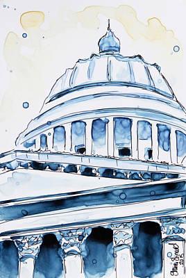 Capitol Poster by Shaina Stinard