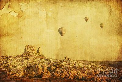 Cappadocia Poster by Andrew Paranavitana