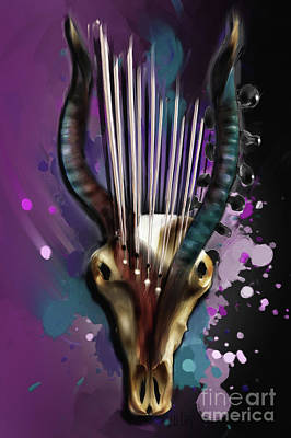 Capricorn Poster by Melanie D