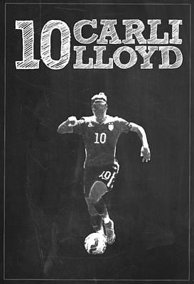 Carli Lloyd Poster by Semih Yurdabak