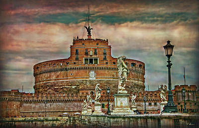 Castel Sant Angelo Poster by Hanny Heim