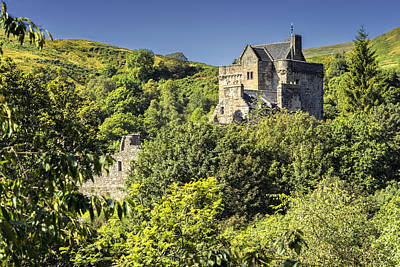 Castle Campbell Poster by Jeremy Lavender Photography