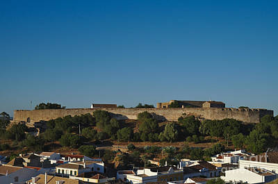 Castle Of Castro Marim From The Hill Poster by Angelo DeVal