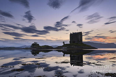 Castle Stalker Poster by Rod McLean