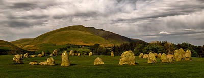 Castlerigg Stone Circle Poster by John Collier