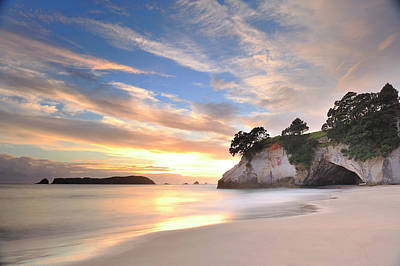 Cathedral Cove Poster by Photography By Anthony Ko
