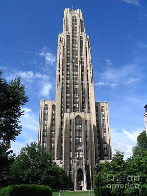 Cathedral Of Learning Poster by Spencer McKain