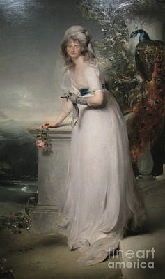 Catherine Grey Lady Manners Poster by Celestial Images