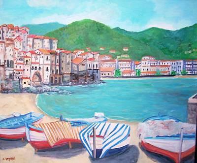 Cefalu In Sicily Poster by Teresa Dominici