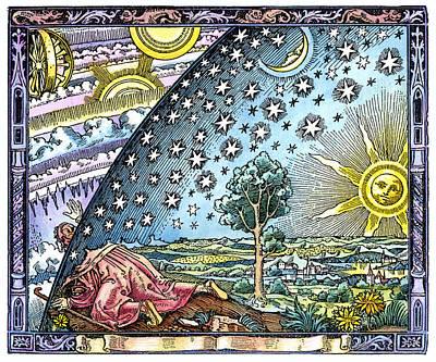Celestial Mechanics, Medieval Artwork Poster by Detlev Van Ravenswaay
