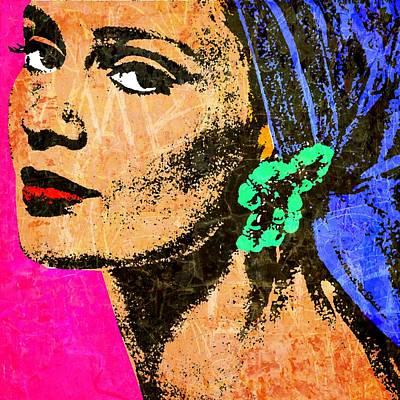 Celia Hammond 4 Poster by Otis Porritt