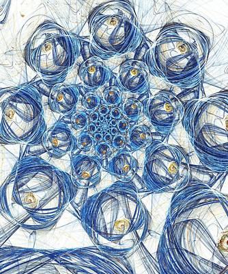 Cells Poster by Anastasiya Malakhova