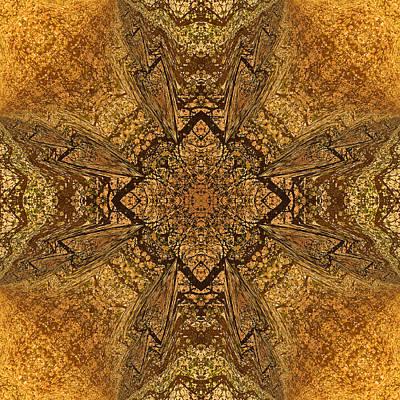 Celtic Mandala Abstract Poster by Georgiana Romanovna