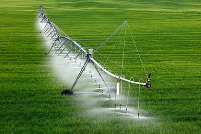 Center Pivot Irrigation Poster by Todd Klassy