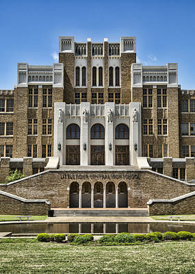Central High School - Little Rock Poster by Stephen Stookey