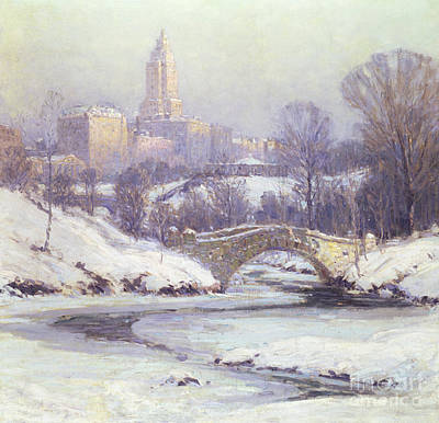 Central Park Poster by Colin Campbell Cooper