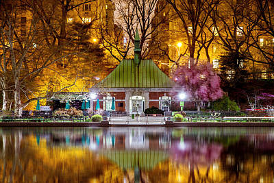 Central Park Memorial Poster by Az Jackson