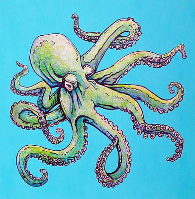 Cephalopod Poster by Jacob Medina