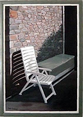 Chair Poster by Marie Dunkley