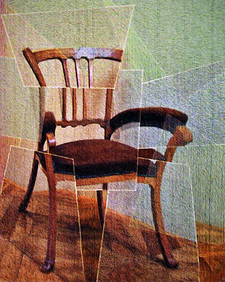 Chair Poster by Nikolyn McDonald