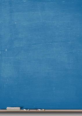 Chalk Board Split Poster by Allan Swart