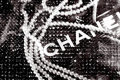 Chanel Poster by LisaEryn