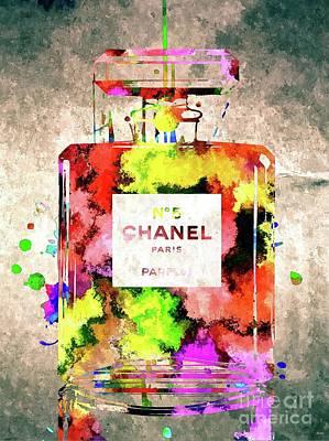 Chanel No 5 Poster by Daniel Janda