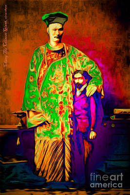 Chang The Chinese Giant 20151222 Poster by Wingsdomain Art and Photography