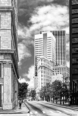 Changing Face Of Downtown Atlanta Poster by Mark E Tisdale