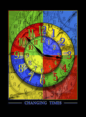 Changing Times Poster by Mike McGlothlen