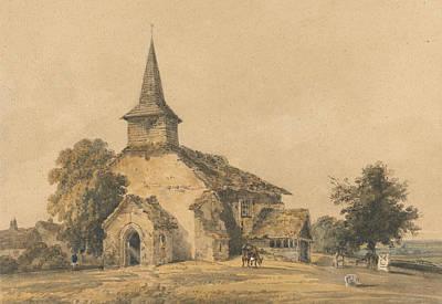 Chapel Church, Surrey Poster by Thomas Girtin