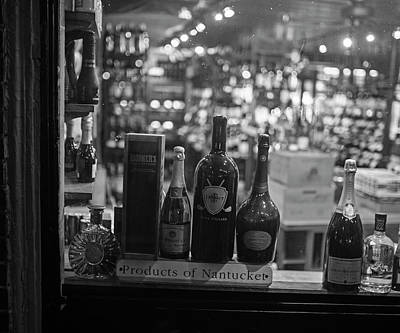 Charles Street Boston Ma Wine In The Window Poster by Toby McGuire