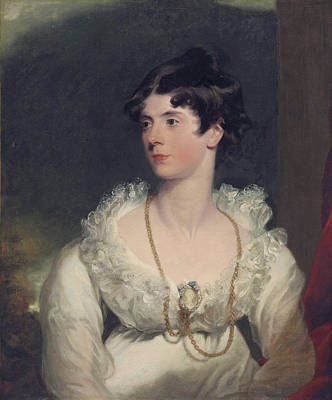 Charlotte Sophia Countess Of Surrey Poster by Sir Thomas Lawrence
