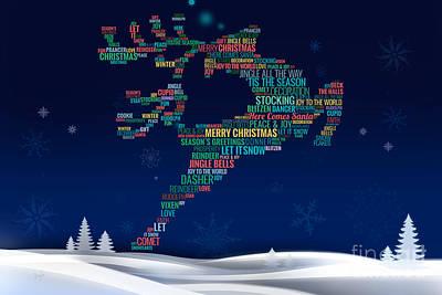 Charming Reindeer Poster by Bedros Awak