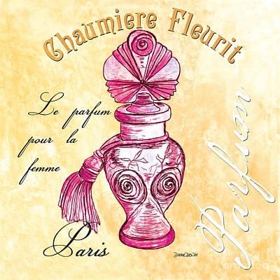 Chaumiere Fleurit Poster by Debbie DeWitt