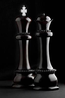 Chessmen I Poster by Tom Mc Nemar