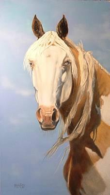 Cheyenne Whisper Poster by Melody Perez