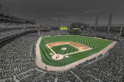 Chicago White Sox Us Cellular Field Creative Poster by David Haskett