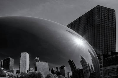 Chicago's Bean Poster by Andrew Soundarajan