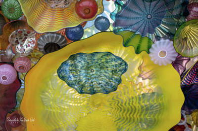 Chihuly Glass 1 Poster by Safe Haven Photography Northwest