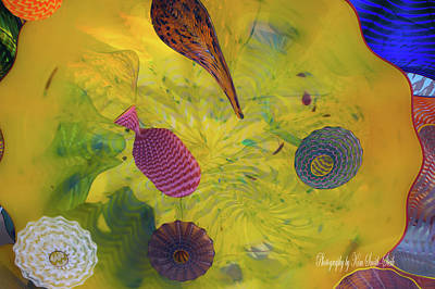 Chihuly Glass 3 Poster by Safe Haven Photography Northwest
