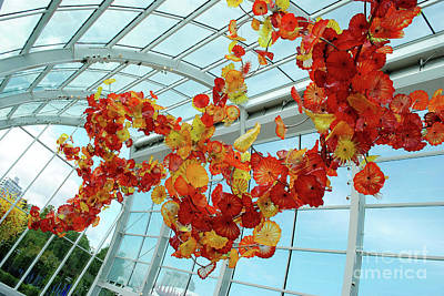 Chihuly Glass House Poster by Alicia Espinosa