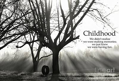 Childhood Remembered Poster by Benanne Stiens
