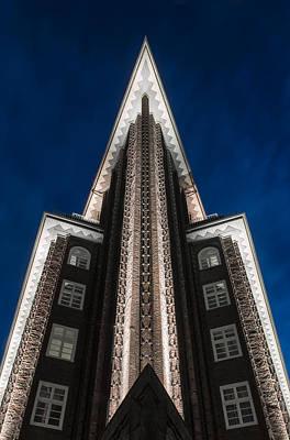 Chilehaus, Hamburg Poster by Silke Tuexen