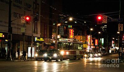 Chinatown Dundas At Spadina Poster by Gary Chapple