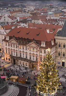 Christmas In Prague Poster by Juli Scalzi