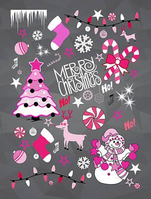 Christmas Poster by Mark Ashkenazi