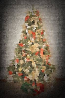 Christmas Tree Poster by Art Spectrum